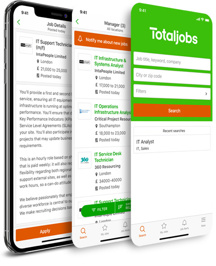 Jobs | UK Job Search | Find your perfect job - totaljobs